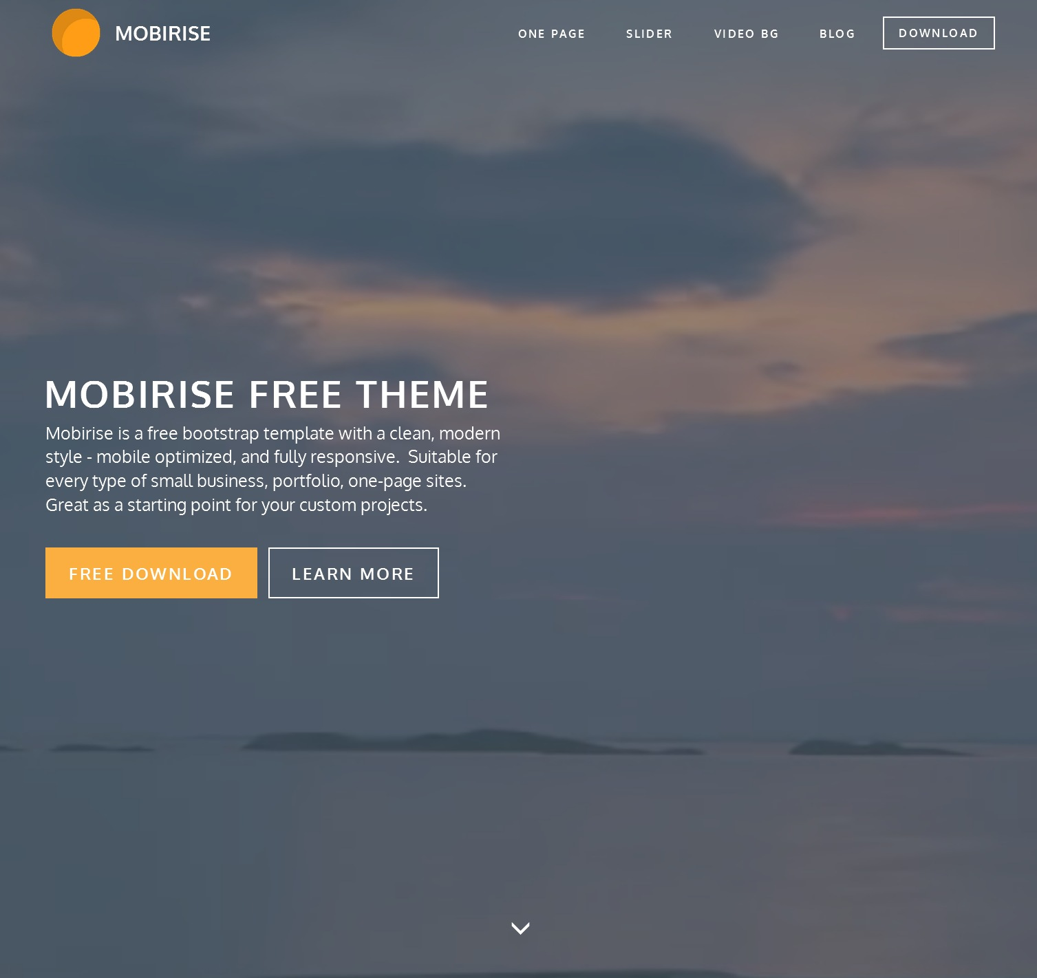 Free Bootstrap Gallery Theme