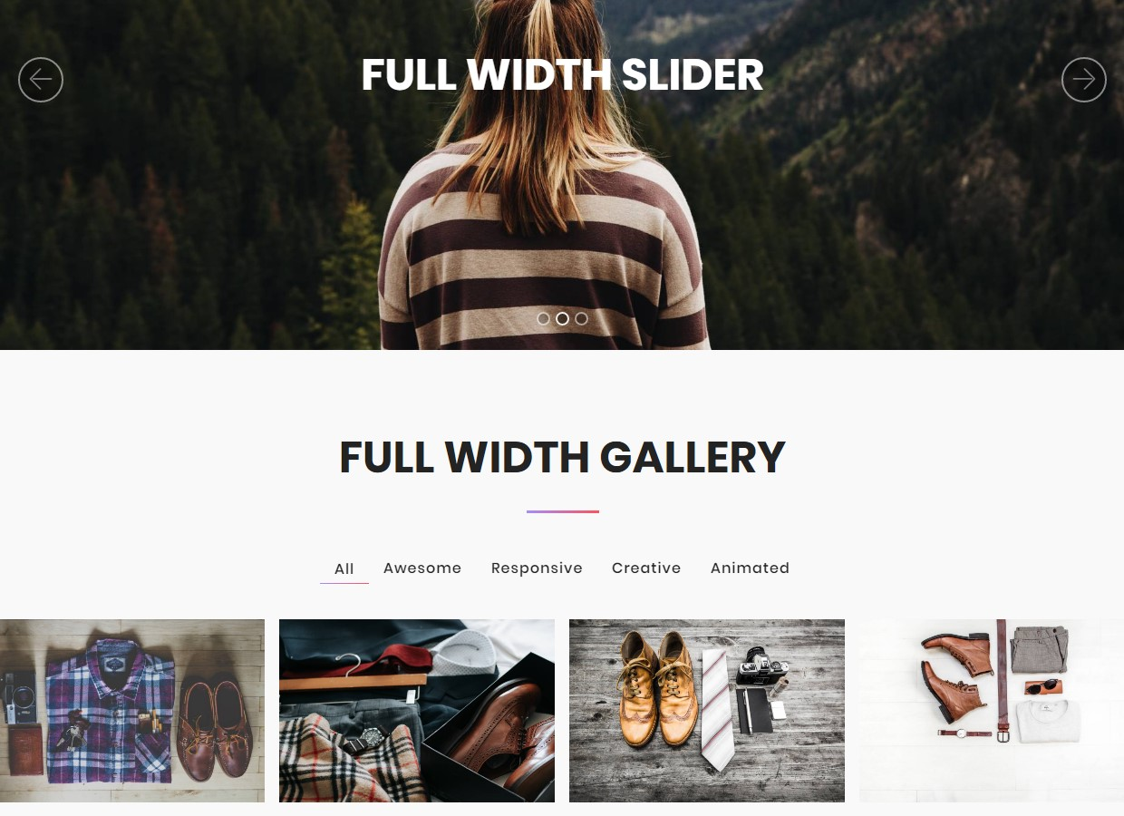 Top 53 Nice and Simple Responsive Templates Collection